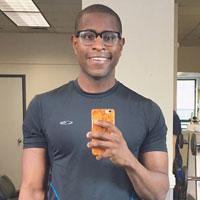 plan cul gay black sportif